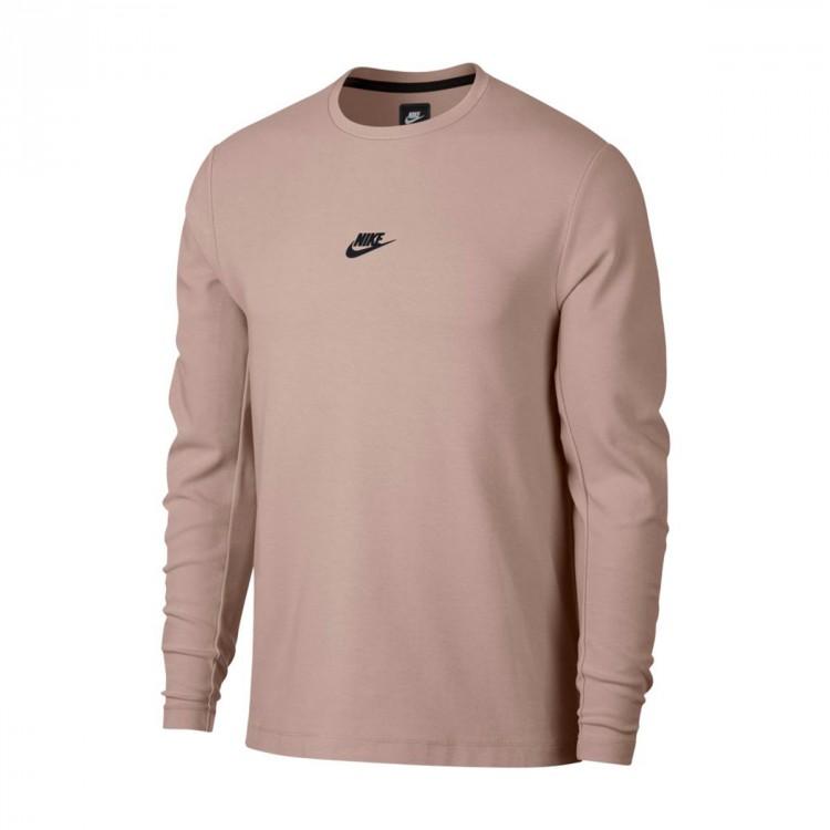 Sudadera Nike Sportswear Diffused taupe-Black - Soloporteros es ... 2c6d858b01a