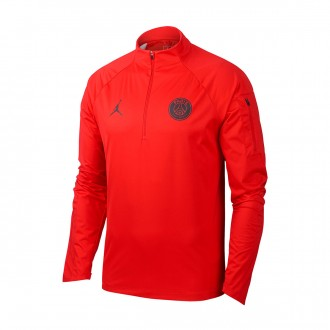 Camisola  Nike Shield Paris Saint-Germain Squad 2018-2019 University red-Black