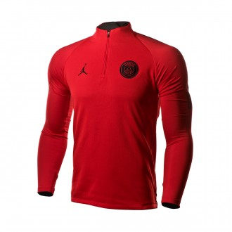 Sweatshirt  Nike Paris Saint-Germain Dry Squad Dril CL 2018-2019 University red-Black