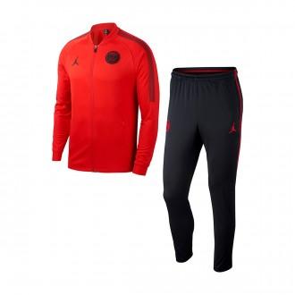 Fato de treino  Nike Paris Saint-Germain Dry Squad K CL 2018-2019 University red-Black