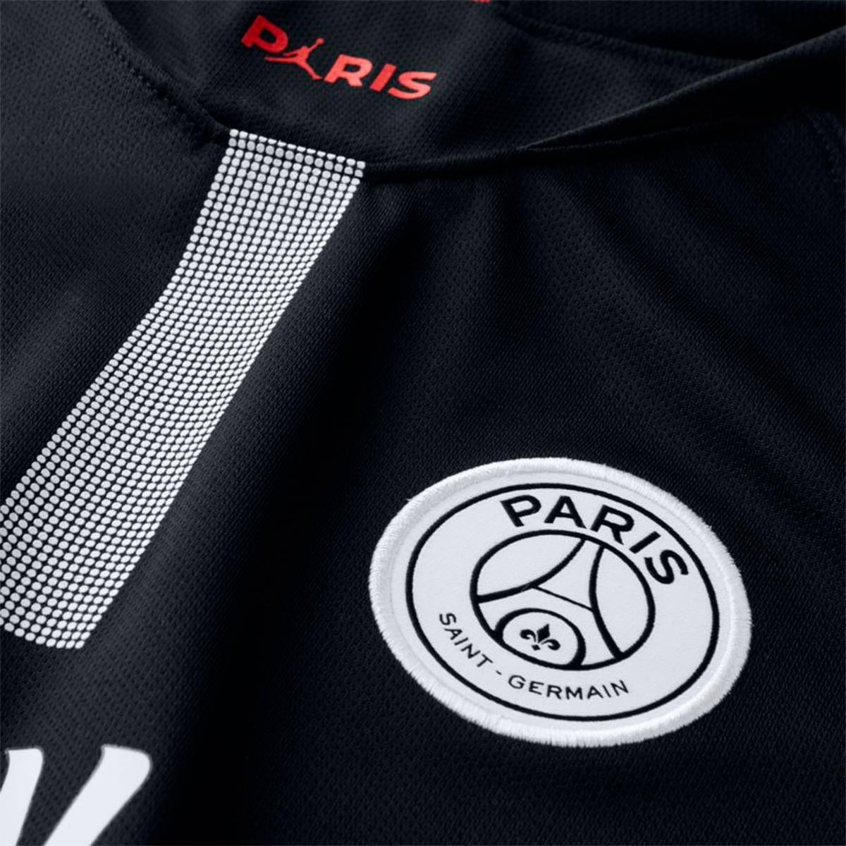 Jersey Nike Kids Paris Saint-Germain Stadium 2018-2019 Third Black-White -  Soloporteros es ahora Fútbol Emotion c7cbfb3af00b5