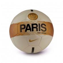 Balón Paris Saint-Germain Supporters 2018-2019 Light bone-Black-Gold