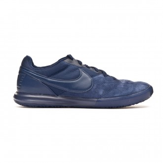 Chaussure de futsal Nike Tiempo Premier II Sala IC Midnigt navy-White