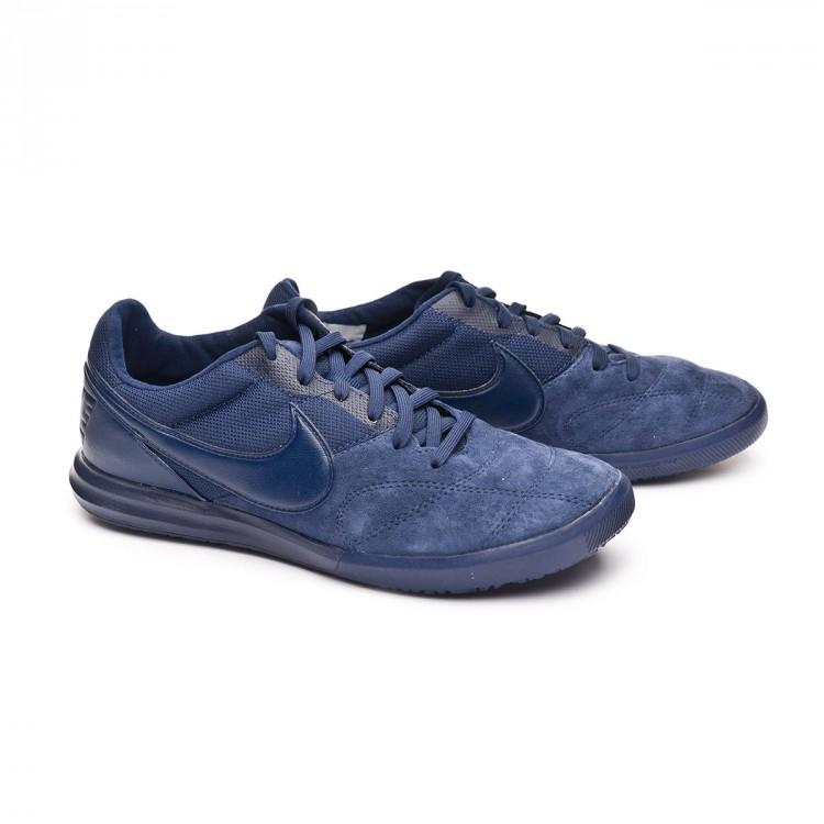 4d1f256dab85d Zapatilla Nike Tiempo Premier II Sala IC Midnigt navy-White - Tienda ...