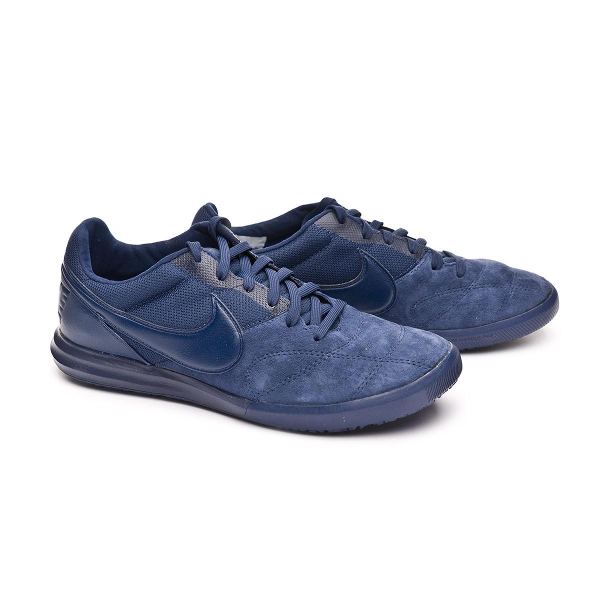 Scarpe Nike Tiempo Premier II Sala IC Midnigt navy-White - Negozio