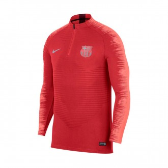 Sudadera  Nike VaporKnit Strike FC Barcelona 2018-2019 Tropical pink-Light atomic pink