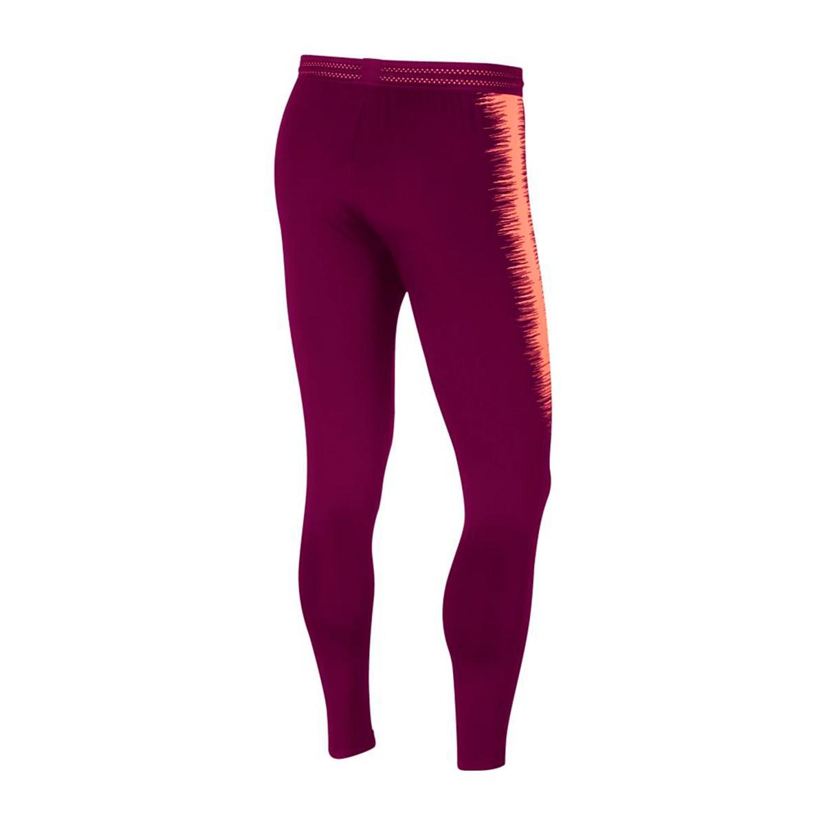 d4e3bd41c Nike VaporKnit Strike FC Barcelona 2018-2019 Long pants. Deep maroon-Light  atomic pink ...
