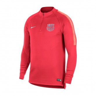 Sweatshirt  Nike Dry FC Barcelona Squad 2018-2019 Tropical pink-Light atomic pink
