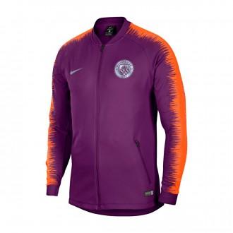 Jacket  Nike Manchester City FC 2018-2019 Night purple-Safety orange