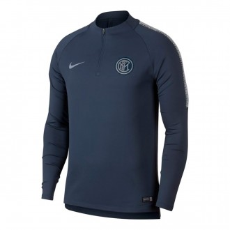 Sudadera  Nike Inter Milán Milan Squad 2018-2019 Thunder blue-Vast grey