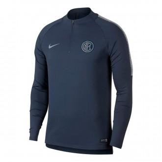 Sweatshirt  Nike Inter Milán Milan Squad 2018-2019 Thunder blue-Vast grey