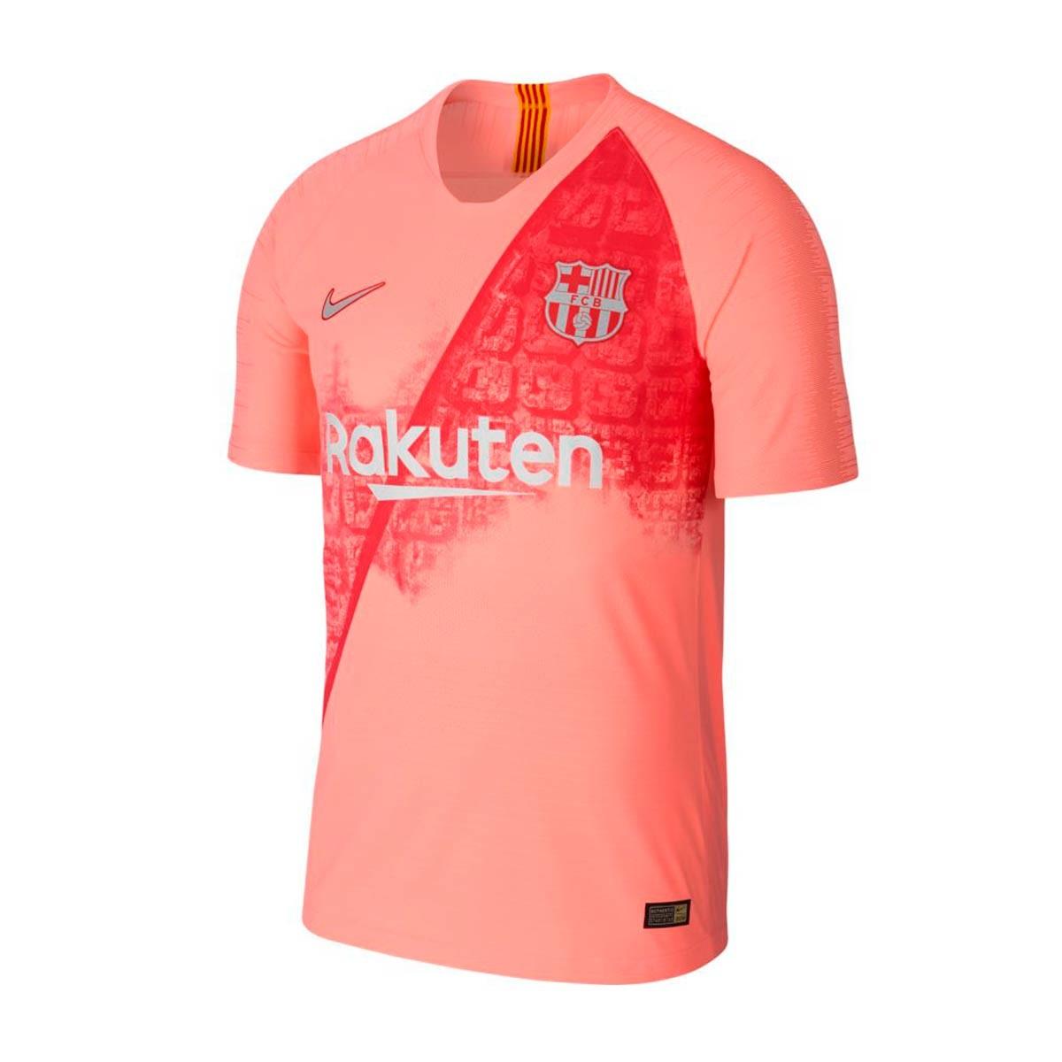 e53e8ba9 Camiseta Nike Vapor FC Barcelona Match Tercera Equipación 2018-2019 Light  atomic pink-Silver - Tienda de fútbol Fútbol Emotion