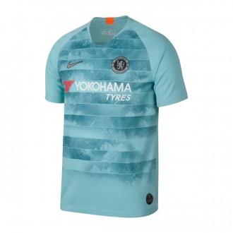 Camiseta  Nike Chelsea FC Stadium Tercera Equipación 2018-2019 Ocean bliss-Metallic silver
