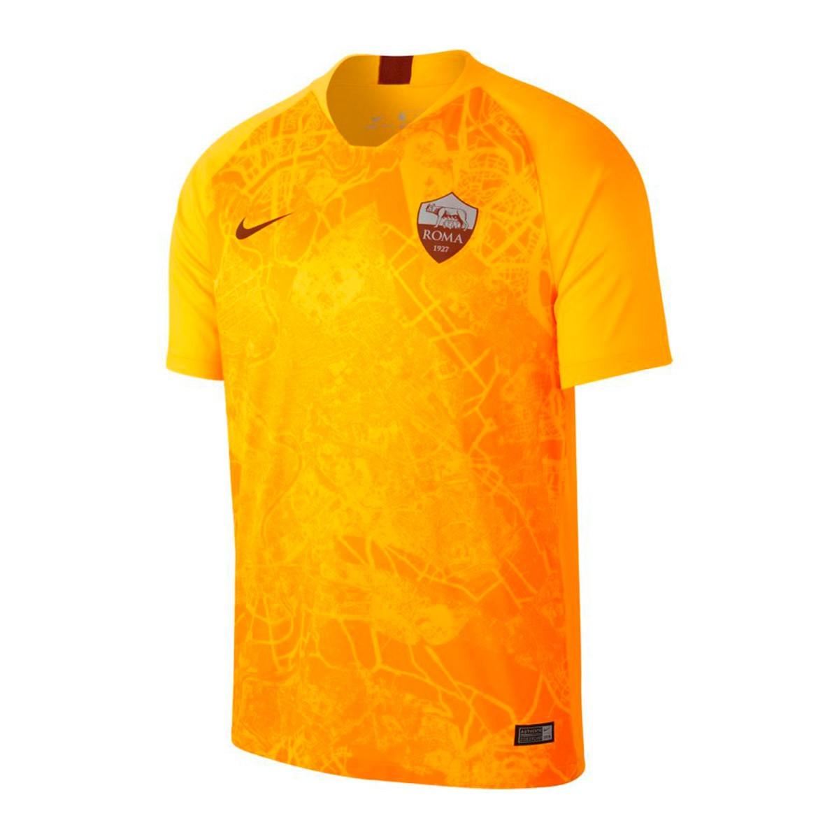 9834a4f37 Jersey Nike AS Roma Stadium 2018-2019 Third University gold-Mars stone -  Football store Fútbol Emotion