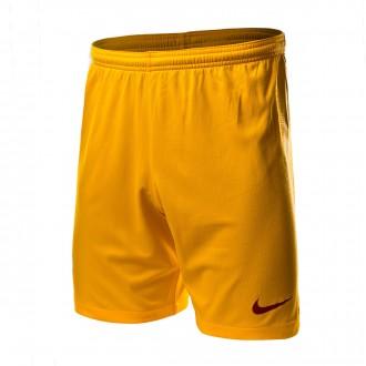 Pantaloncini  Nike AS Roma Stadium Terza Divisa 2018-2019 University gold-Mars stone