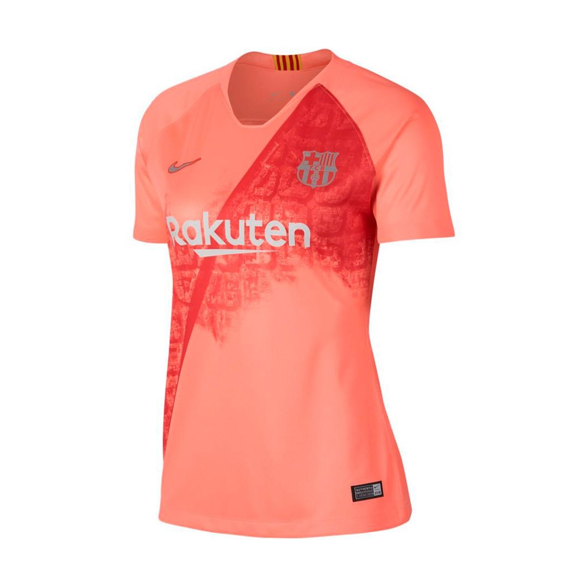 official photos 4dd87 a82a4 Camiseta FC Barcelona Stadium Tercera Equipación 2018-2019 Mujer Light  atomic pink-Silver