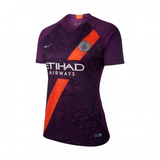 Jersey  Nike Woman Manchester City FC Stadium 2018-2019 Third Night purple