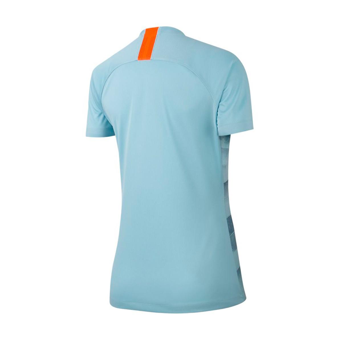 best cheap 212b7 2e345 Camiseta Chelsea FC Stadium Tercera Equipación 2018-2019 Mujer Ocean  bliss-Metallic silver