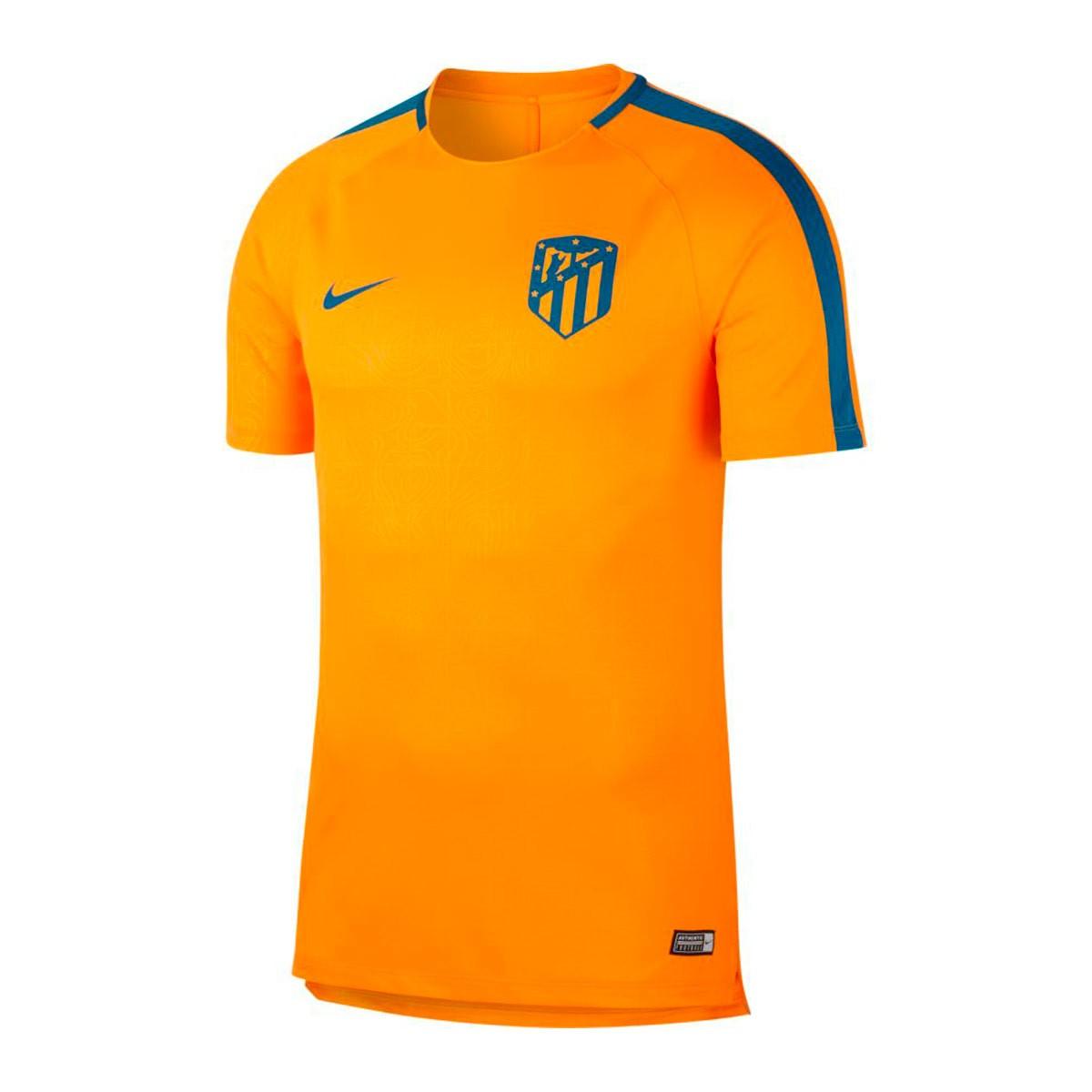... Camiseta Dry Atlético de Madrid Squad 2018-2019 Orange peel-Green  abyss. CATEGORY 7b0166fa80f
