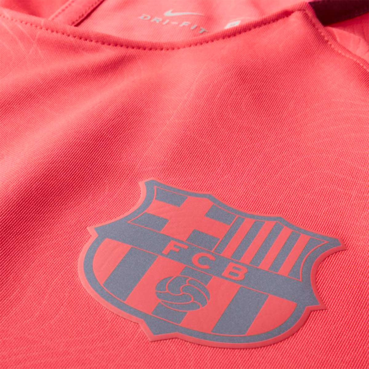 08ee2557f78 Jersey Nike Dry FC Barcelona Squad 2018-2019 Tropical pink-Deep maroon -  Football store Fútbol Emotion