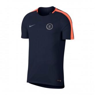 Camiseta  Nike Dry Chelsea FC Squad 2018-2019 Obsidian-Hyper crimson