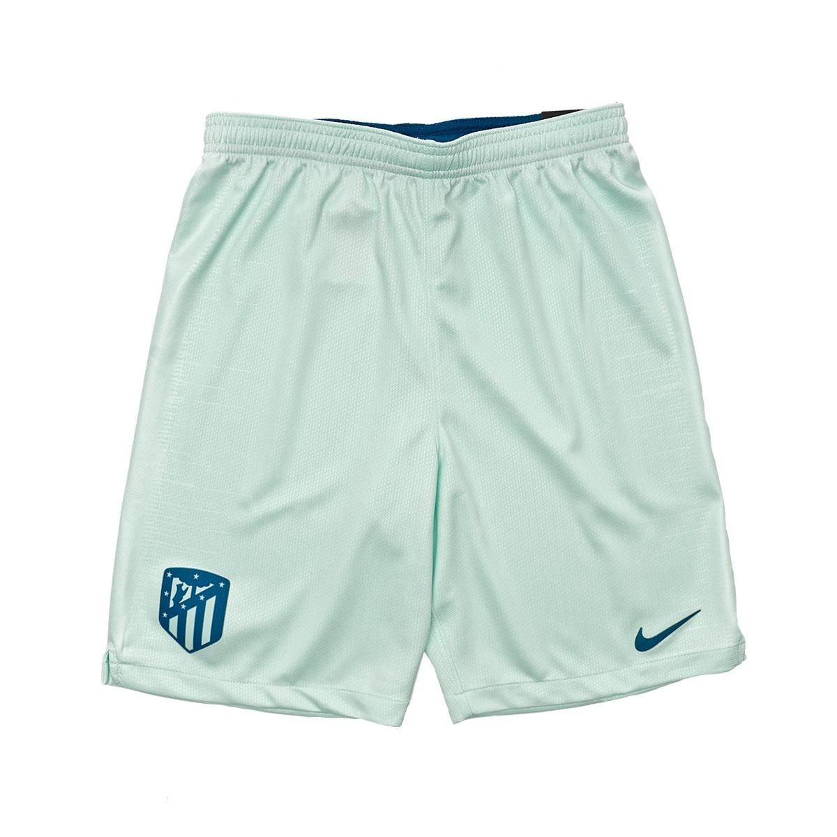 Short Nike Atletico de Madrid Stadium Tercera Equipación 2018-2019 Niño  Igloo-Green abyss - Soloporteros es ahora Fútbol Emotion 589882ecc0d0a