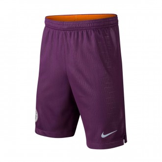 Pantaloncini  Nike Manchester City FC Stadium Terza Divisa 2018-2019 Junior Night purple