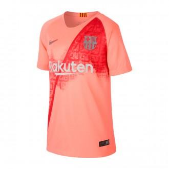Camiseta  Nike FC Barcelona Stadium Tercera Equipación 2018-2019 Niño Light atomic pink-Silver