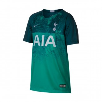 Camiseta  Nike Tottenham Hotspur FC Stadium Tercera Equipación 2018-2019 Niño Neptune green-Armory navy