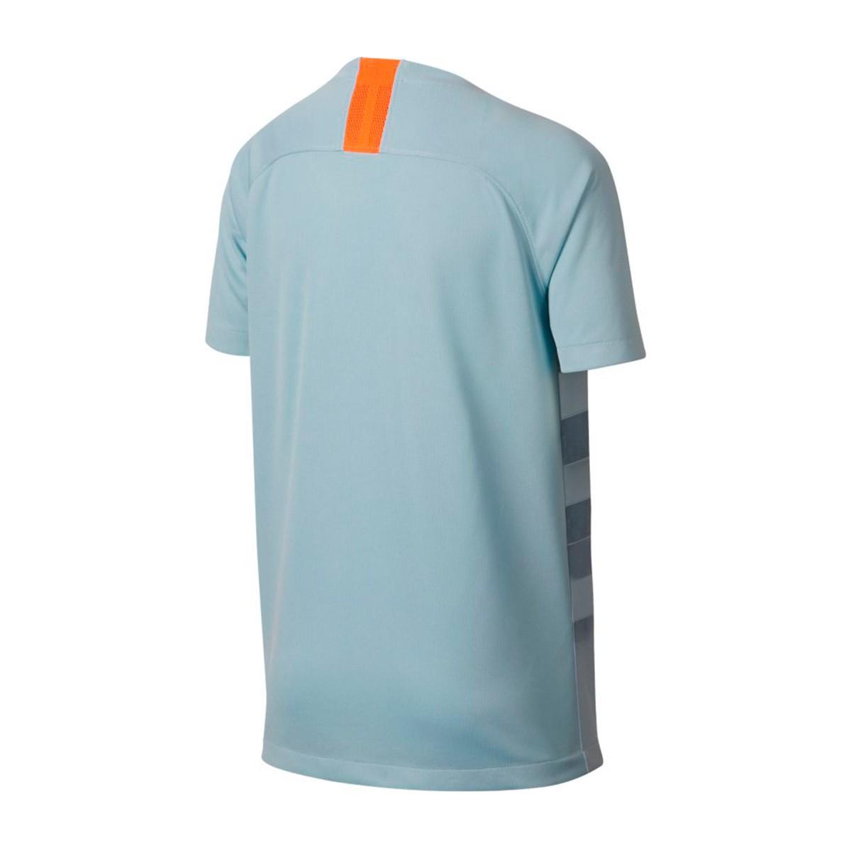 Camiseta Nike Chelsea FC Stadium Tercera Equipación 2018-2019 Niño Ocean  bliss-Metallic silver - Soloporteros es ahora Fútbol Emotion 78bcb552f0183