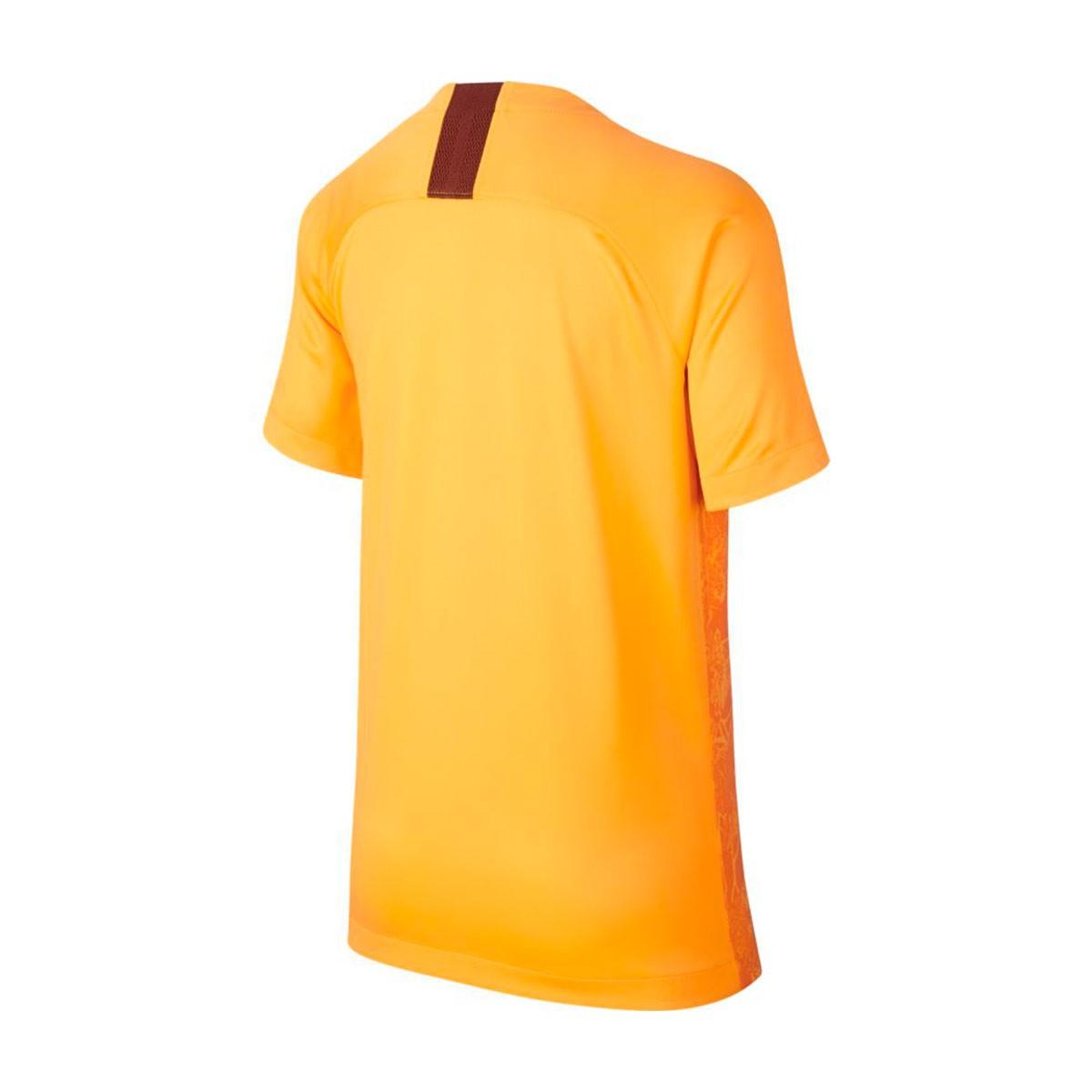 de0324331 Jersey Nike Kids AS Roma Stadium 2018-2019 Third University gold ...