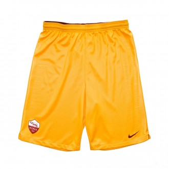 Pantaloncini  Nike AS Roma Stadium Terza Divisa 2018-2019 Junior University gold-Mars stone