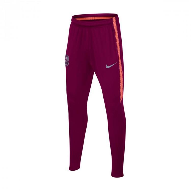 ce034c56da9e5 Pantalón largo Nike Dry FC Barcelona Squad 2018-2019 Niño Deep ...