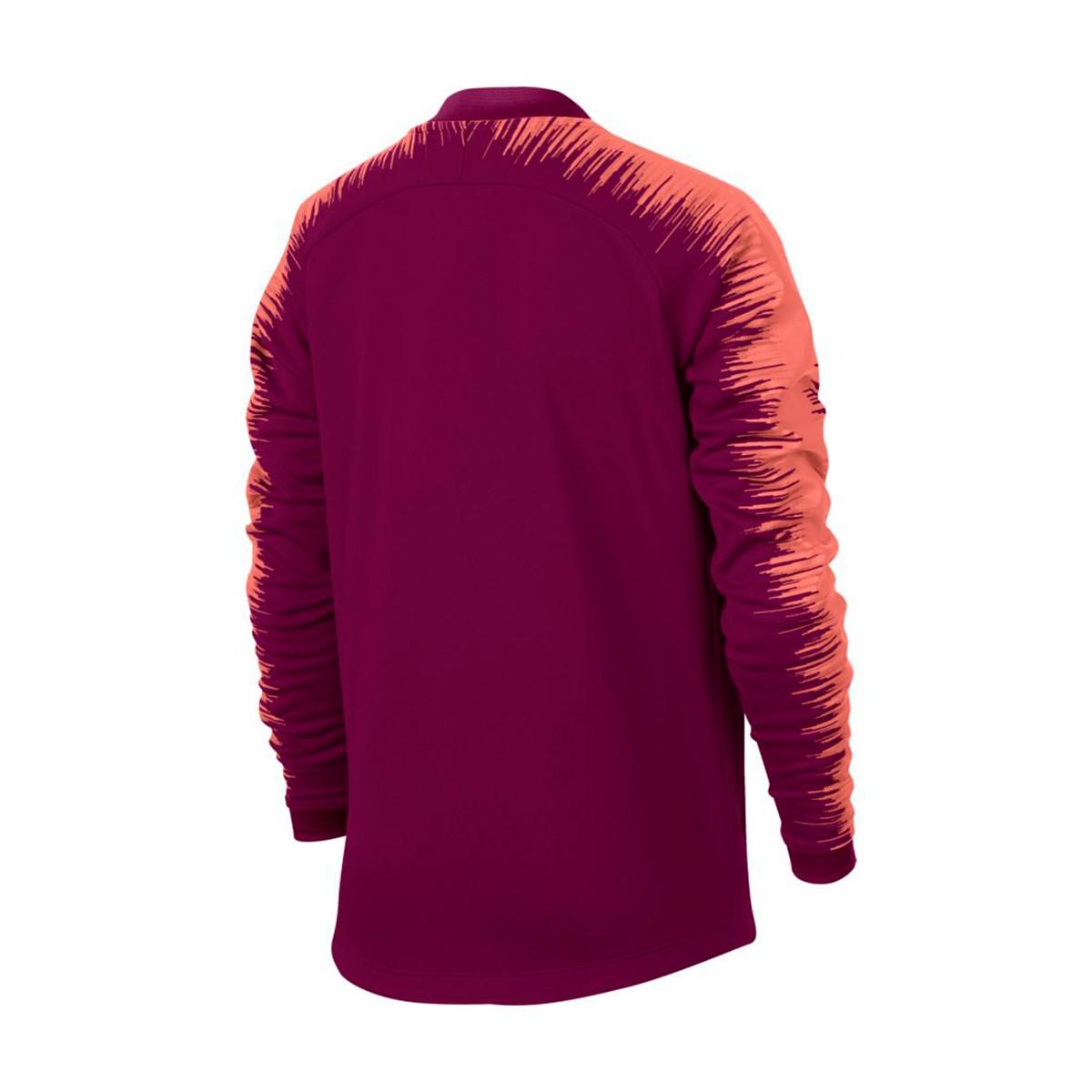 e22bfee5907c3 Chaqueta Nike FC Barcelona 2018-2019 Niño Deep maroon-Light atomic pink -  Tienda de fútbol Fútbol Emotion