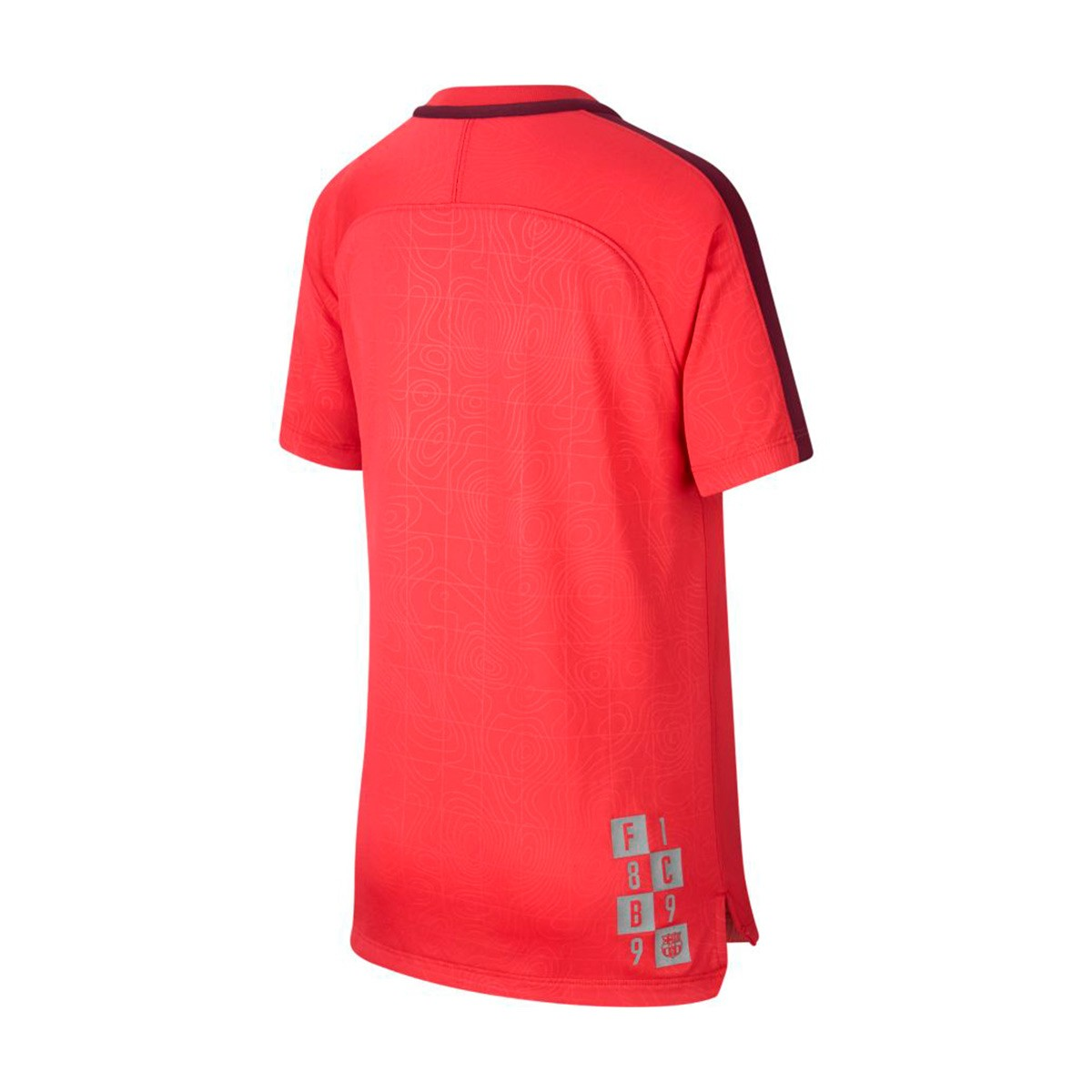 ... Camiseta Dry FC Barcelona Squad 2018-2019 Niño Tropical pink-Deep  maroon. CATEGORY a21adecb00760
