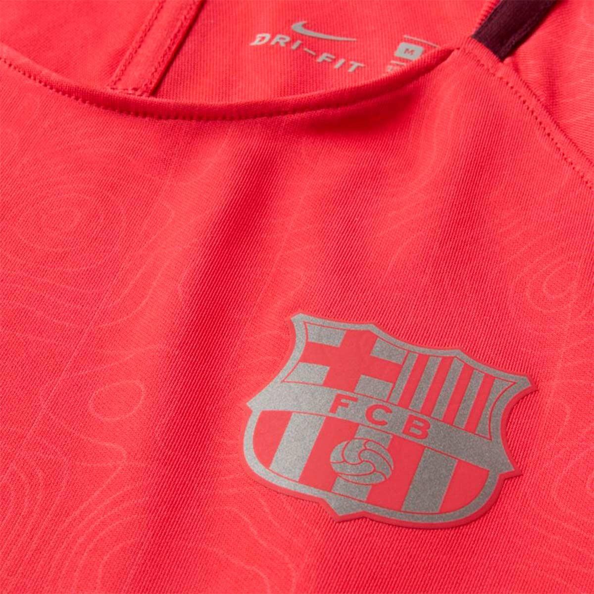 9d02396d46f8f Camiseta Nike Dry FC Barcelona Squad 2018-2019 Niño Tropical pink-Deep  maroon - Tienda de fútbol Fútbol Emotion