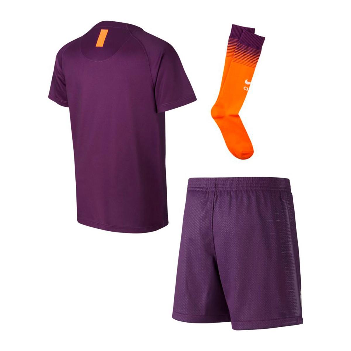 Nike Kids Manchester City FC 2018-2019 Third Kit. Night purple ... affa0a5c0