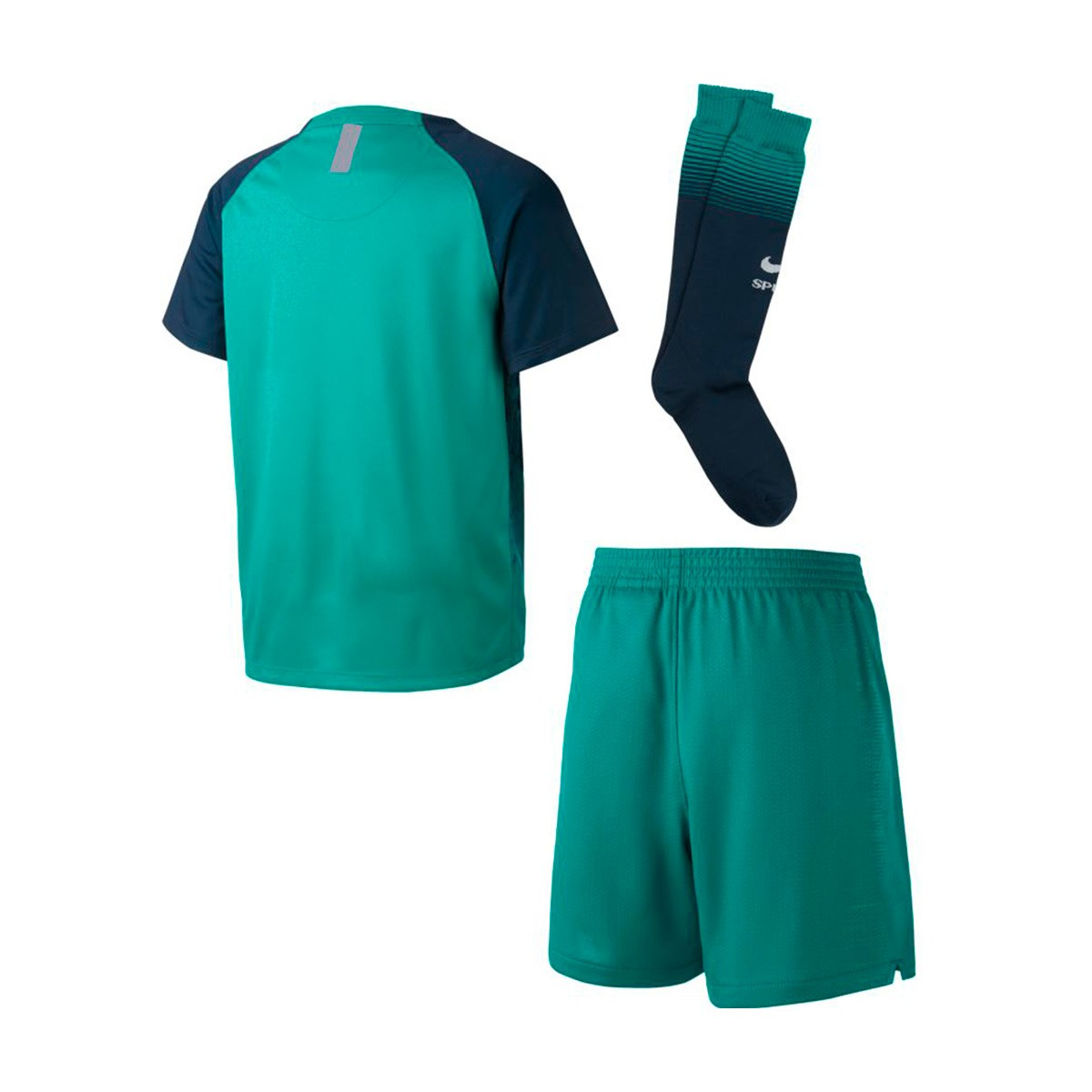 Kit Nike Kids Tottenham Hotspur Fc 2018 2019 Third Neptune Green Armory Navy Football Store Futbol Emotion