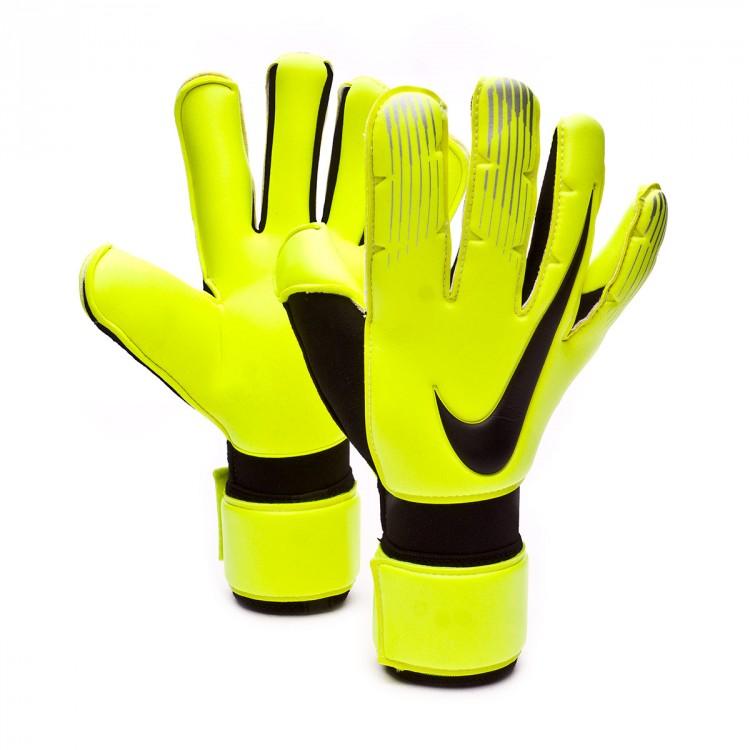 Glove Nike Vapor Grip 3 RS Promo Volt-Black - Football store Fútbol ... 7508154af65d