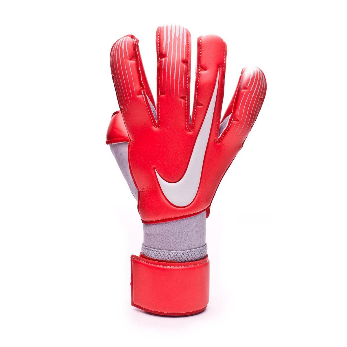 comida Tectónico límite  Glove Nike Vapor Grip 3 RS Promo Light crimson-Wolf grey-Pure platinum -  Football store Fútbol Emotion