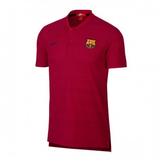 Polo  Nike FC Barcelona Grand Slam Noble red-Deep royal blue