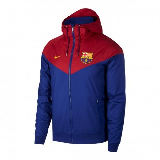 Chaqueta  Nike FC Barcelona Windrunner Deep royal blue-University gold
