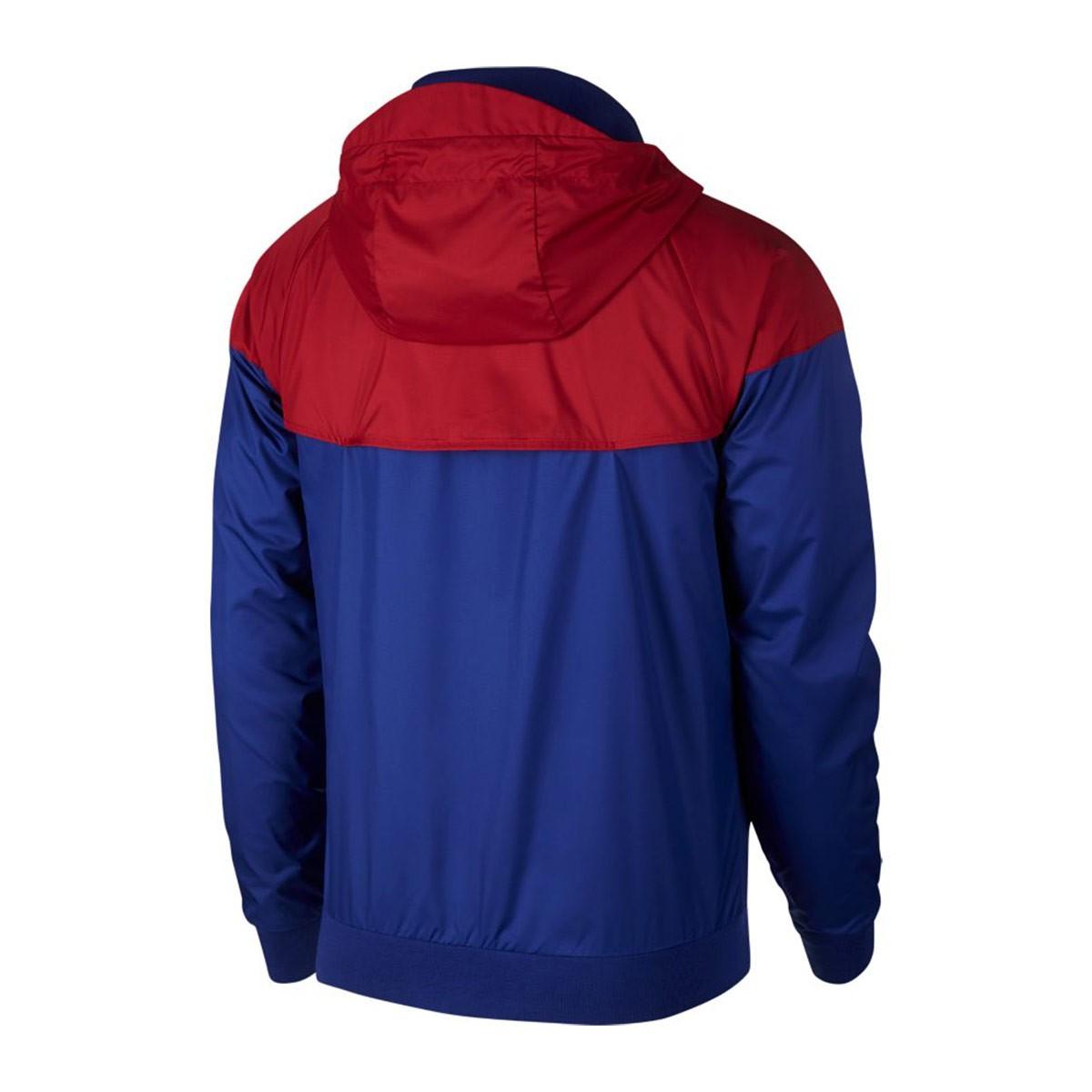 0607df56237 Nike FC Barcelona Windrunner Jacket. Deep royal blue-University gold ...