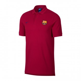 Polo  Nike FC Barcelona Noble red-Deep royal blue