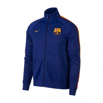 Casaco  Nike FC Barcelona Deep royal blue-University gold