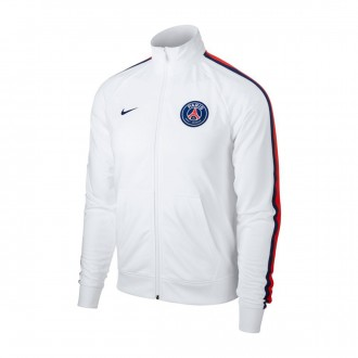 Jacket  Nike Paris Saint-Germain White-Loyal blue