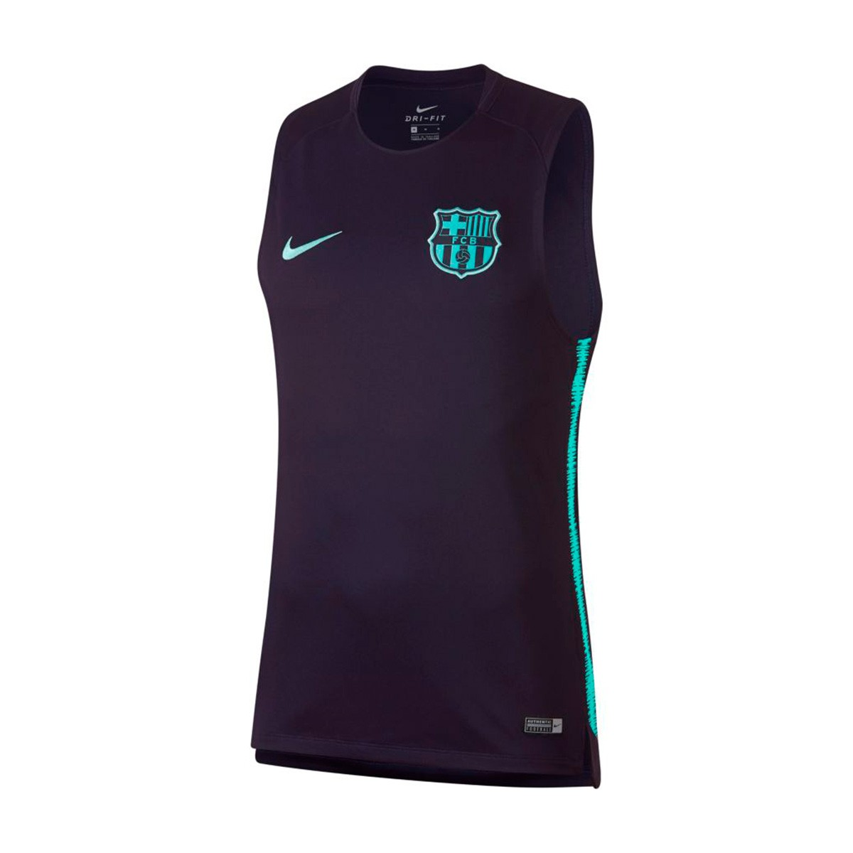 093bc8915a9 Jersey Nike FC Barcelona Squad 2018-2019 Purple dynasty-Hyper turquoise -  Football store Fútbol Emotion
