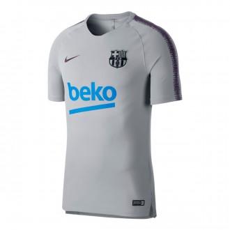 Camiseta  Nike FC Barcelona Squad 2018-2019 Wolf grey-Purple dynasty