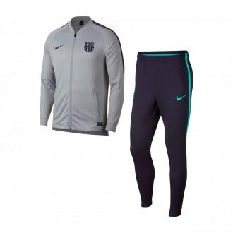 Tracksuit  Nike Dry FC Barcelona Squad 2018-2019 Wolf grey-Purple dynasty