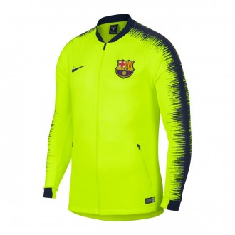Chaqueta  Nike FC Barcelona Volt-Obsidian-Deep royal blue